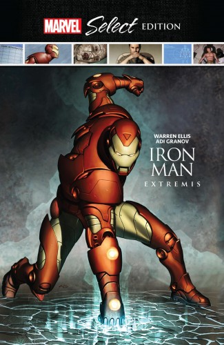 IRON MAN EXTREMIS MARVEL SELECT HARDCOVER