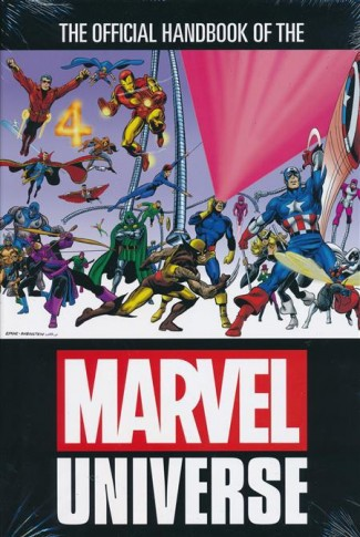 OFFICIAL HANDBOOK OF THE MARVEL UNIVERSE OMNIBUS HARDCOVER