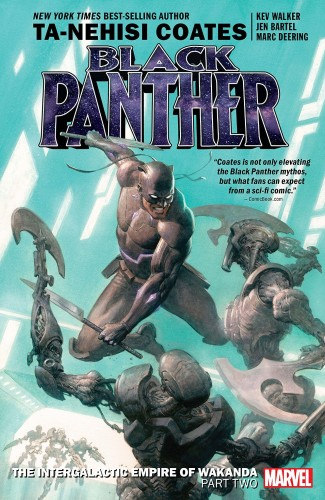 BLACK PANTHER BOOK 7 THE INTERGALACTIC EMPIRE OF WAKANDA PART 2 GRAPHIC NOVEL