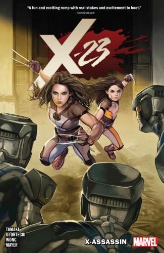 X-23 VOLUME 2 X-ASSASSIN GRAPHIC NOVEL