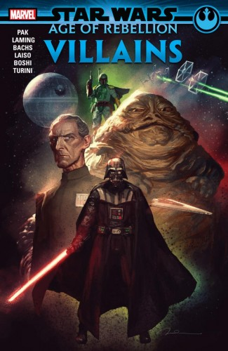 STAR WARS AGE OF REBELLION VILLAINS GRAPHIC NOVEL