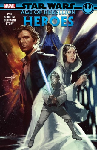 STAR WARS AGE OF REBELLION HEROES GRAPHIC NOVEL