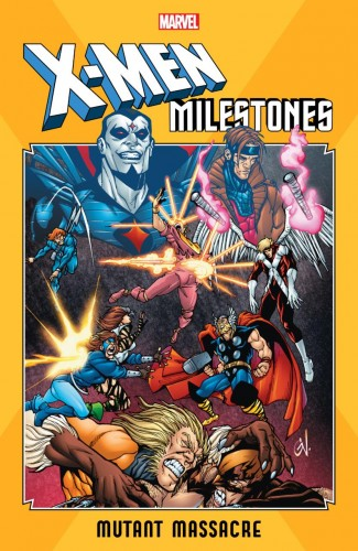 X-MEN MILESTONES MUTANT MASSACRE GRAPHIC NOVEL