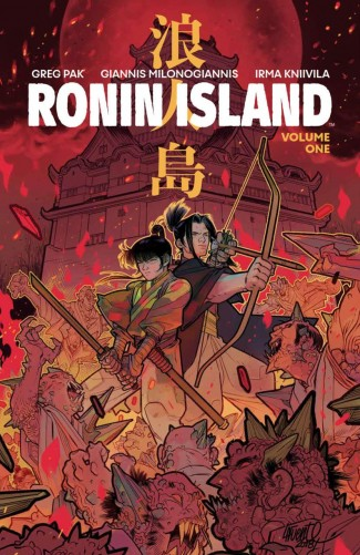 RONIN ISLAND VOLUME 1 PX DISCOVER NOW EDITION GRAPHIC NOVEL