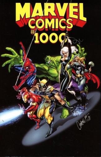 MARVEL COMICS #1000 J SCOTT CAMPBELL VARIANT