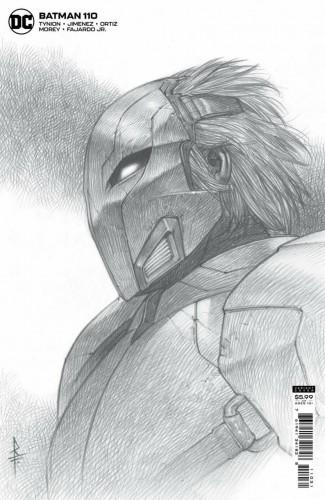 BATMAN #110 (2016 SERIES) RICCARDO FEDERICI 1 IN 25 CARD STOCK VARIANT