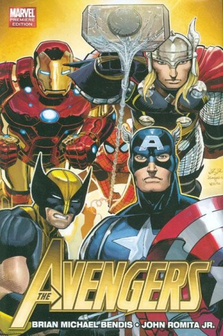 AVENGERS BY BRIAN MICHAEL BENDIS VOLUME 1 HARDCOVER