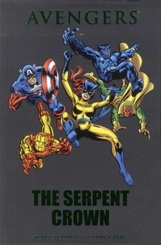 AVENGERS THE SERPENT CROWN HARDCOVER