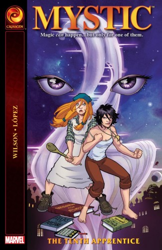 MYSTIC THE TENTH APPRENTICE GRAPHIC NOVEL