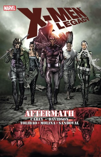X-MEN LEGACY AFTERMATH GRAPHIC NOVEL