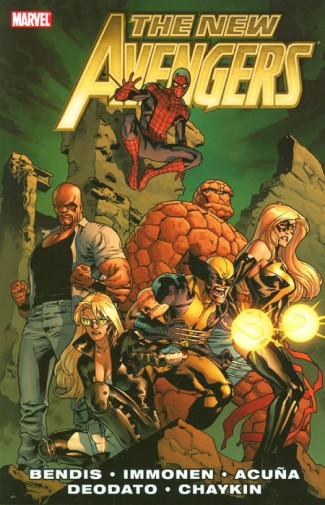 New Avengers by Brian Michael Bendis Volume 2 Graphic Novel