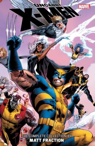 UNCANNY X-MEN THE COMPLETE COLLECTION BY MATT FRACTION VOLUME 1 GRAPHIC NOVEL