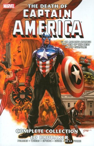 CAPTAIN AMERICA THE DEATH OF CAPTAIN AMERICA COMPLETE COLLECTION GRAPHIC NOVEL