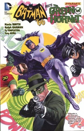 BATMAN 66 MEETS THE GREEN HORNET HARDCOVER
