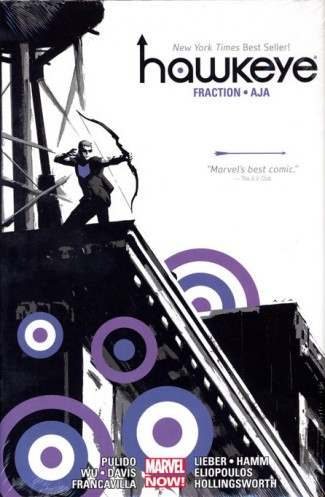 HAWKEYE BY MATT FRACTION AND DAVID AJA OMNIBUS HARDCOVER
