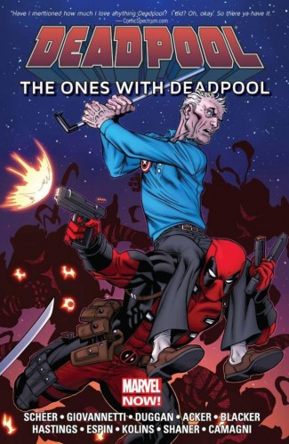 DEADPOOL THE ONES WITH DEADPOOL GRAPHIC NOVEL