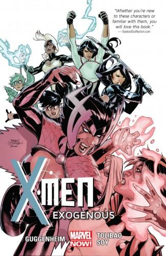 X-MEN VOLUME 4 EXOGENOUS GRAPHIC NOVEL