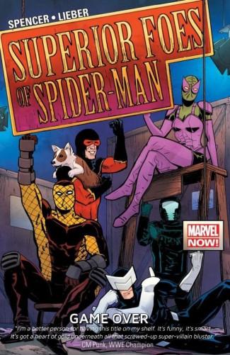 SUPERIOR FOES OF SPIDER-MAN VOLUME 3 GAME OVER GRAPHIC NOVEL