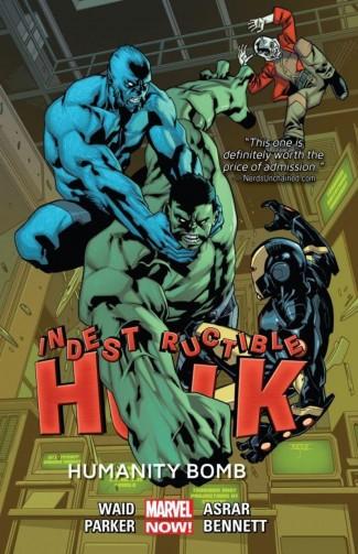 INDESTRUCTIBLE HULK VOLUME 4 HUMANITY BOMB GRAPHIC NOVEL