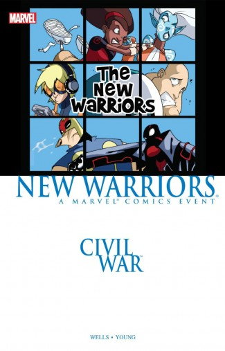 CIVIL WAR PRELUDE NEW WARRIORS GRAPHIC NOVEL