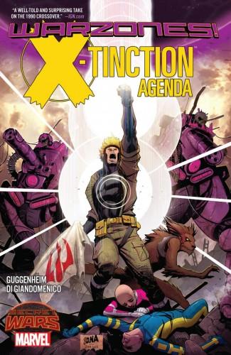 X-TINCTION AGENDA WARZONES GRAPHIC NOVEL