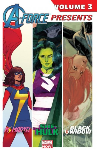 A-FORCE PRESENTS VOLUME 3 GRAPHIC NOVEL