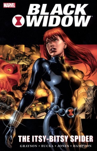 BLACK WIDOW THE ITSY BITSY SPIDER GRAPHIC NOVEL
