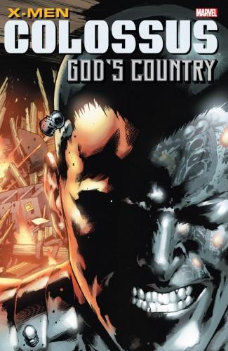 X-MEN COLOSSUS GODS COUNTRY GRAPHIC NOVEL