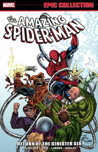 AMAZING SPIDER-MAN EPIC COLLECTION RETURN OF THE SINISTER SIX GRAPHIC NOVEL