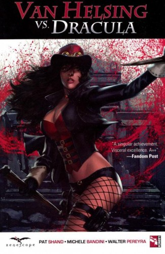 GRIMM FAIRY TALES VAN HELSING VS DRACULA GRAPHIC NOVEL