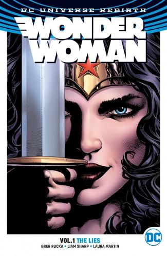 WONDER WOMAN VOLUME 1 THE LIES GRAPHIC NOVEL