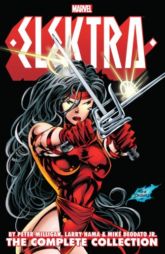 ELEKTRA BY MILLIGAN HAMA AND DEODATO JR COMPLETE COLLECTION GRAPHIC NOVEL