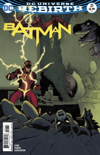 BATMAN #21 (2016 SERIES) TIM SALE VARIANT