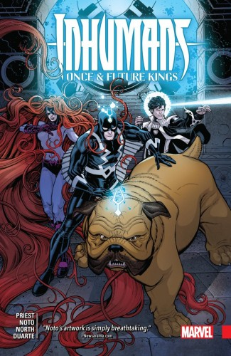 INHUMANS ONCE AND FUTURE KING GRAPHIC NOVEL