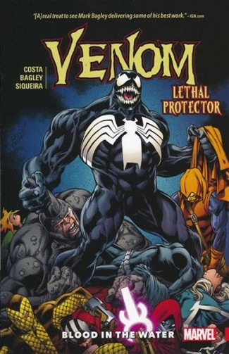 VENOM VOLUME 3 LETHAL PROTECTOR BLOOD IN THE WATER GRAPHIC NOVEL