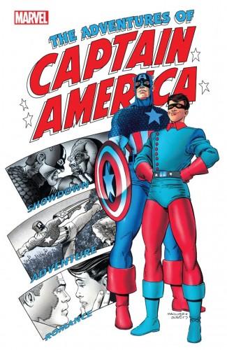 CAPTAIN AMERICA ADVENTURES OF CAPTAIN AMERICA GRAPHIC NOVEL