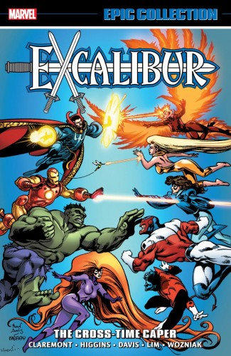 EXCALIBUR EPIC COLLECTION CROSS-TIME CAPER GRAPHIC NOVEL