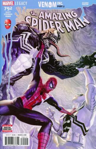 AMAZING SPIDER-MAN #792 (2015 SERIES) 2ND PRINT