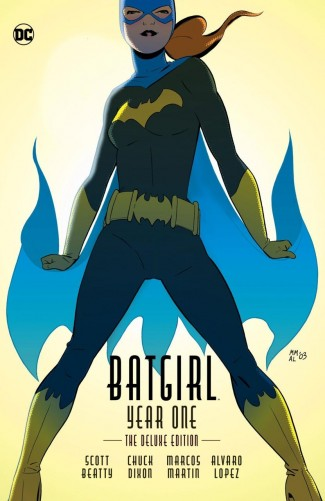 BATGIRL YEAR ONE DELUXE EDITION HARDCOVER