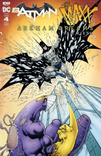 BATMAN THE MAXX ARKHAM DREAMS #4