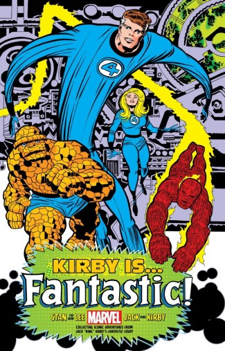 KIRBY IS FANTASTIC KING SIZE HARDCOVER