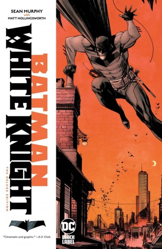 BATMAN WHITE KNIGHT DELUXE EDITION HARDCOVER