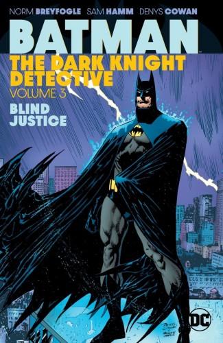 BATMAN THE DARK KNIGHT DETECTIVE VOLUME 3 BLIND JUSTICE GRAPHIC NOVEL