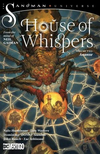 HOUSE OF WHISPERS VOLUME 2 ANANSE GRAPHIC NOVEL