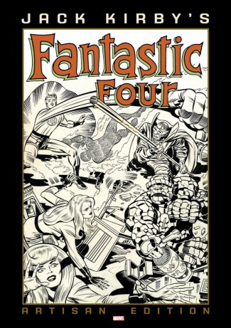 JACK KIRBY FANTASTIC FOUR ARTISAN EDITION SOFTCOVER