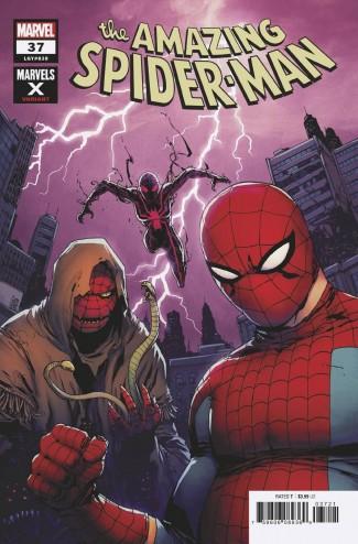 AMAZING SPIDER-MAN #37 (2018 SERIES) CAMUNCOLI MARVELS X VARIANT