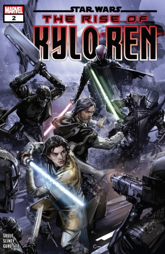 STAR WARS THE RISE OF KYLO REN #2 (1ST PRINTING)