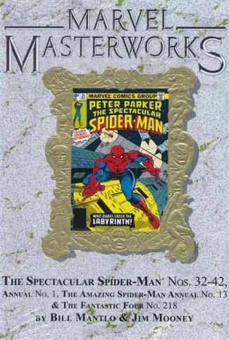 MARVEL MASTERWORKS SPECTACULAR SPIDER-MAN VOLUME 3 DM VARIANT #290 EDITION HARDCOVER
