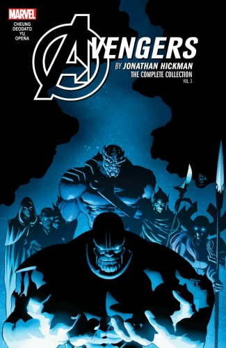 AVENGERS BY JONATHAN HICKMAN THE COMPLETE COLLECTION VOLUME 3 GRAPHIC NOVEL
