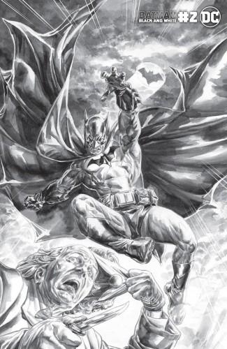 BATMAN BLACK AND WHITE #2 (2020 SERIES) DOUG BRAITHWAITE VARIANT